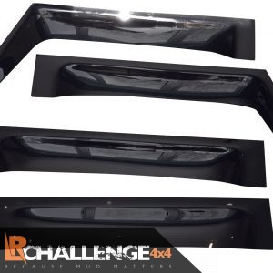 Wind deflectors to fit Land Rover Defender 110 90 Smoked