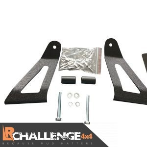 LED Light Bar Brackets Mounts to fit Nissan Terrano 2 Above Screen For 42″ Bar