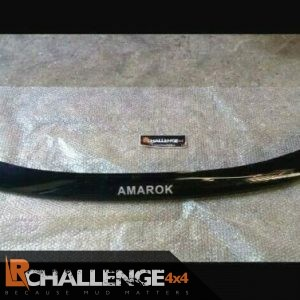 bonnet Guard Bra protector to fit Volkswagen Amarok Lettering 2009 onward