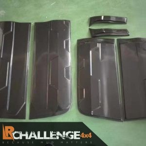 2012-2021 Ranger Body Armour Cladding Gloss black great looking