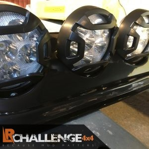 LED light pod including 4x spot lights 12v – 24v self adhesive idea for jimny vitara sj duster