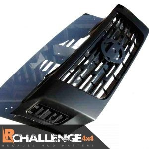 Satin Black Grill to fit Nissan Navara NP300 2016-Onwards