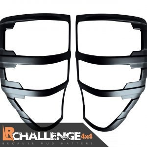 Rear Light Guard covers black to fit Ranger T6 2016 onwards