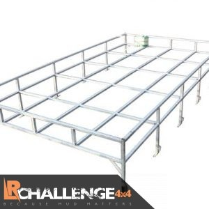 Heavy Duty Roof rack to fit Land Rover Defender 110 Aluminum full length traditional