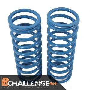 HD Rear Coil Springs Pair heavy duty Bearmach +40mm 510lb Land Rover Defender 110 130