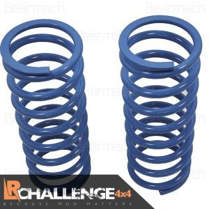 Front +30mm lift Road springs Pair +195LB HD to fit Land Rover Discovery 2 TD5 & v8