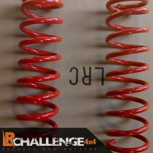 Pair Front 2″ Suzuki Jimny Lift springs HD Plus 45mm red total length 356mm 170lb 1999-2018