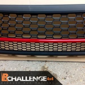 Aftermarket Black Mesh Grill to fit Toyota Hilux Roco 2018-2020