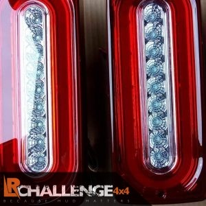 Clear LED Rear lights to Fit Mercedes G Wagon W463 G500 550 55 AMG 86-15 progressive indicators