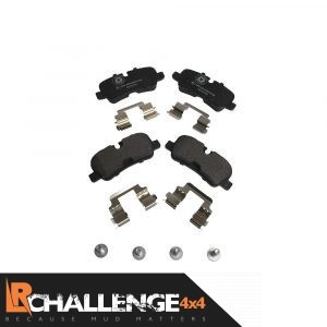 Rear Brake Pads (With Fitting Kit) suitable for Discovery 4, Range Rover Sport & Range Rover L405 vehicles