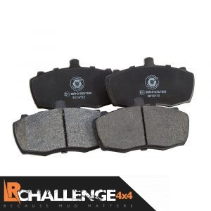 Front Brake Pads suitable for land rover defender 90/110/127 (1983 – 1990)