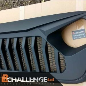 Angry Birds Grill to fit 2019-2021 Jeep Wrangler JK abs plastic matt black can be painted