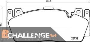 MINTEX Front Brake pads MDB3253 to fit BMW F22 M2 F10 M5 F12 F13 M6 inc wire