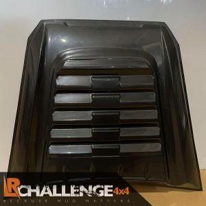 Gloss Black Bonnet Scoop to fit Hilux MK8 2015 -2021 bonnet vent