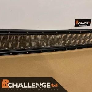 Curved 52″ 500 watt monster Osram 4D Led light bar best around Tinted lenses ice white