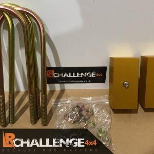 Rear 2″ Lift Blocks to fit Ranger T6 T7 T8 2012-2021 Wildtrak limited etc