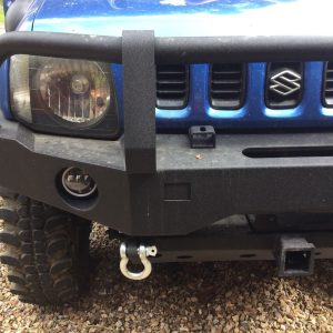 Spots light mounting brackets bolt on no drilling to fit Suzuki Jimny