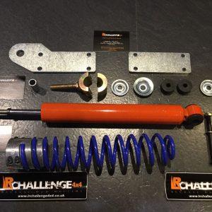 Return To Centre HD Steering Damper to fit Suzuki Jimny 1.3   k