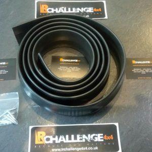 Rubber Flexi multi defuser 40mm self adhesive Impreza Evo M3 etc front splitter