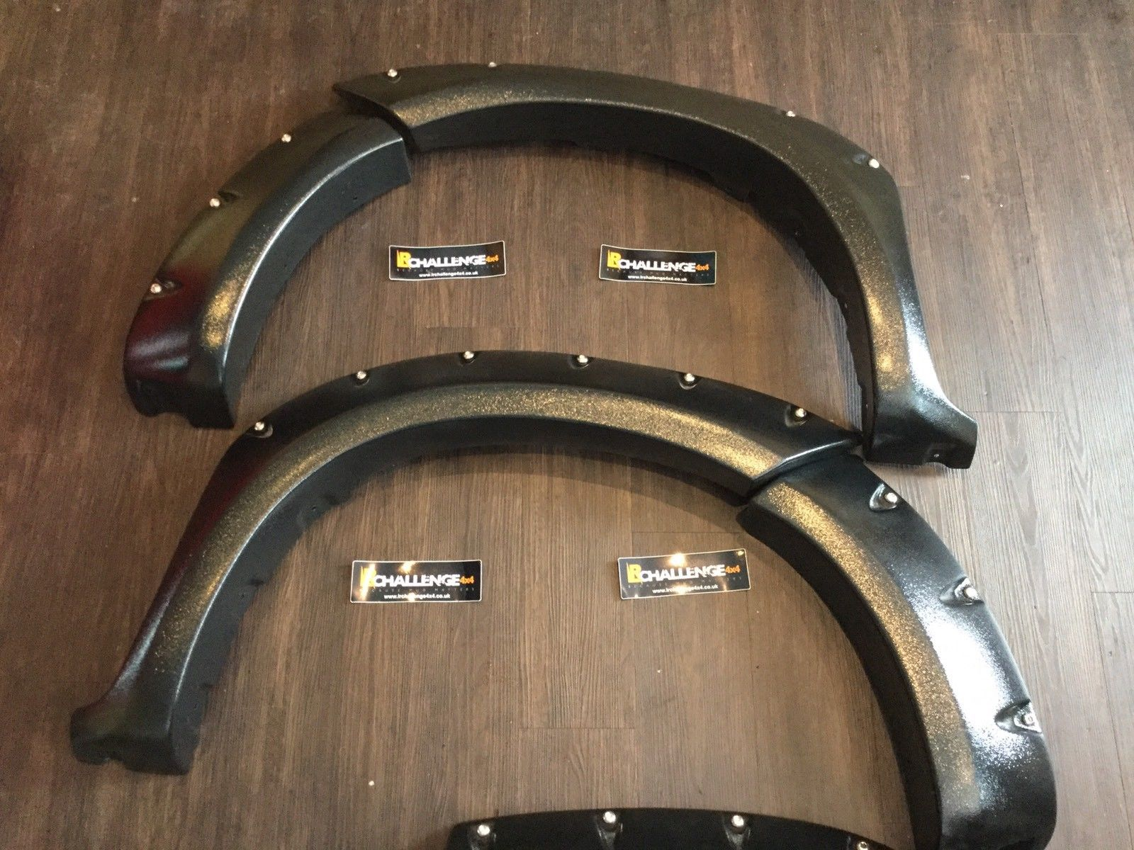 Wide Wheel Arches Extensions 5 U0026quot  Wide Toyota Hilux Vigo
