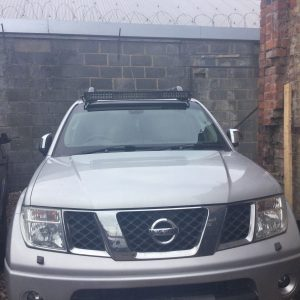 42″ LED Light Bar Brackets mounts To Fit Nissan Navara D40 2006-2015