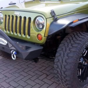 Wide wheel arches Thin style to fit Jeep Wrangler 2007 – 2018 these look superb
