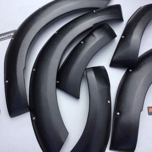 Wide Arches Fender Flares to fit Toyota Hilux Revo New Shape 2016-2018