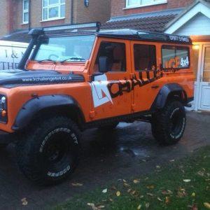 """Land Rover Defender 110 2"""" Bearmach Lift Kit Light Load Spring Pro Comp Shocks"""