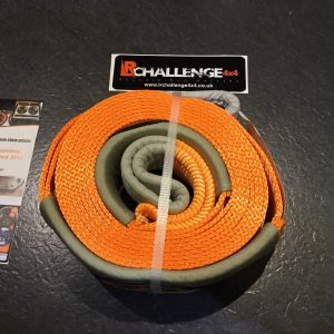 7.5cm X 6m Tow Strap Rope 10000kg 10 Tonne Defender Discovery Jimny Recovery ex display USED