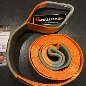 7.5cm X 6m Tow Strap Rope 10000kg 10 Tonne Defender Discovery Jimny Recovery