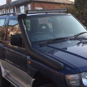 Snorkel Kit to fit Mitsubishi Shogun flared arch wide UK model 2.5 2.8 3.0 1996-2000