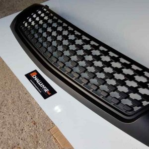 Satin Black mesh style Grill to fit Mitsubishi L200 2015 onwards Triton