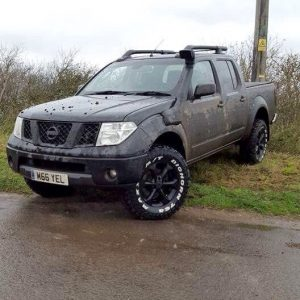 Snorkel Kit to fit Nissan Navara D40 2005-2009