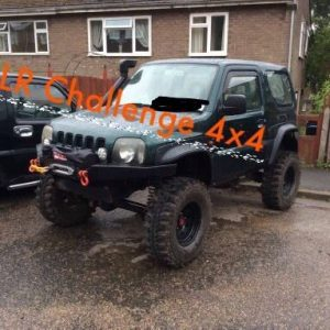 "Suzuki Jimny 1.3 Wide Arch Kit offroad Great Looking Abs Plastic 100mm 4"" Wide"