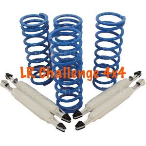land rover defender 90 2'' Lift Kit Bearmach HD Springs & Pro Comp Shocks 295LB