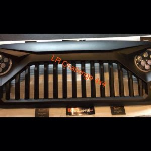Angry Birds Grill to fit 2006-2017 Jeep Wrangler JK abs plastic matt black can be painted