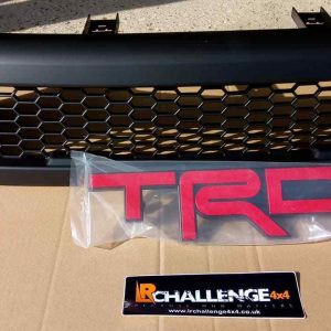 Aftermarket Black Mesh Grill to fit Hilux Revo 2015-2018