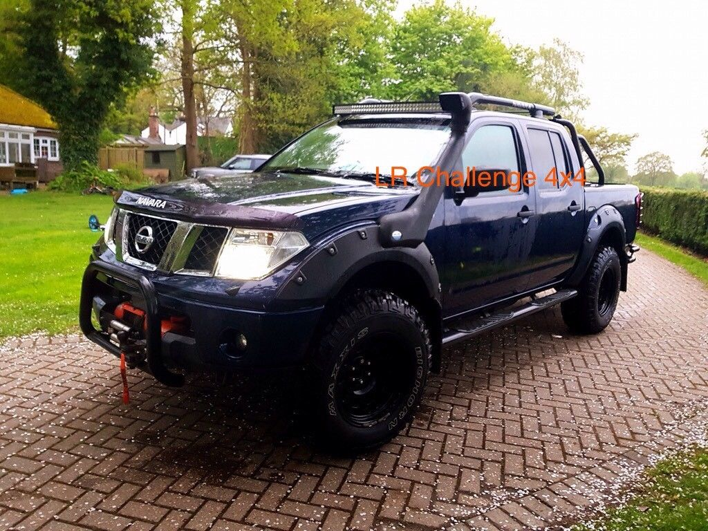 wide wheel arches extensions fender flares nissan navara. Black Bedroom Furniture Sets. Home Design Ideas