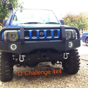 Winch bumper to fit Suzuki Jimny 1.3 1999-2018