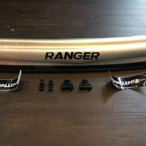 Bonnet Guard Bra Silver & Black to fit Ranger 2012-2016