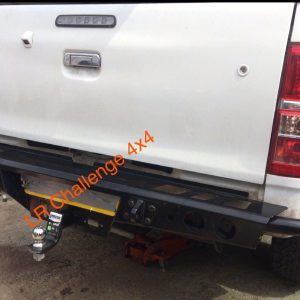 Rear Bumper HD With Tow Bar Mount to fit Toyota Hilux Vigo 2006-2015
