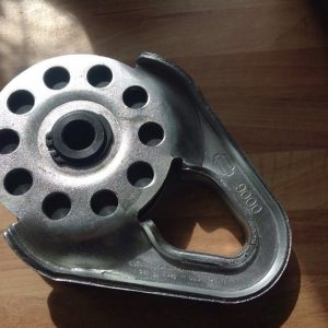 Winch Snatch Block Heavy Duty 9000lb Large 4 Tonne